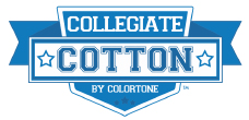 Blank Collegiate Cotton Brand Apparel Logo