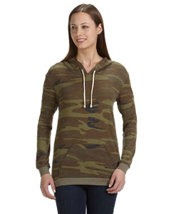 01928E1 Ladies' Classic Eco-Jersey Pullover Hoodie