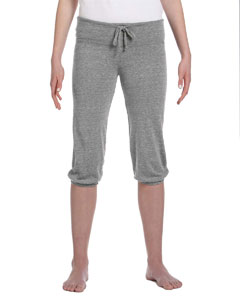 01985E1 Ladies' Cropped Eco-Jersey Pant