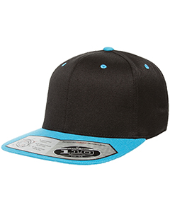 110FT Adult Wool Blend Snapback Two-Tone Cap