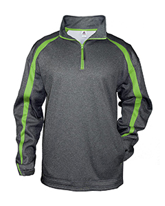 1481 Adult Fusion Quarter-Zip Fleece Pullover