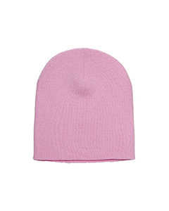 Wholesale Yupoong 1500 Adult Knit Cap - BABY PINK