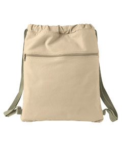 1901 14 oz. Pigment-Dyed Canvas Cinch Sack
