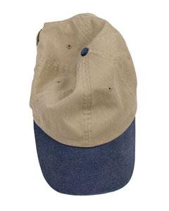 Wholesale Authentic Pigment 1910 Pigment-Dyed Baseball Cap - KHAKI  NAVY bdc820077c11