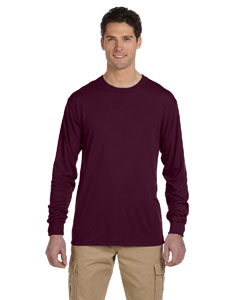 21ML Adult 5.3 oz., DRI-POWER® SPORT Long-Sleeve T-Shirt