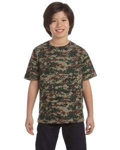 2206 Youth Camouflage T-Shirt