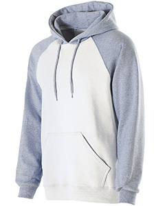 229179 Adult Cotton/Poly Fleece Banner Hoodie