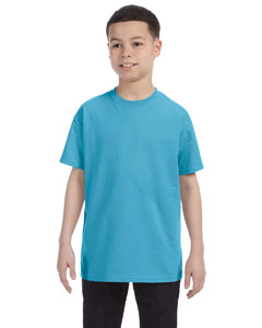 Wholesale Jerzees 29B Youth 5.6 oz., DRI-POWER® ACTIVE T-Shirt - AQUATIC BLUE