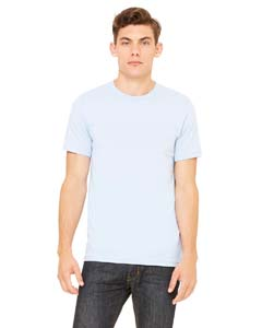 Wholesale Bella + Canvas 3001C Unisex Jersey Short-Sleeve T-Shirt - LIGHT BLUE