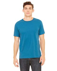 Wholesale Bella + Canvas 3001C Unisex Jersey Short-Sleeve T-Shirt - DEEP TEAL