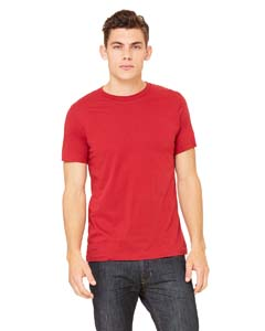 Wholesale Bella + Canvas 3001C Unisex Jersey Short-Sleeve T-Shirt - CANVAS RED