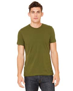 Wholesale Bella + Canvas 3001C Unisex Jersey Short-Sleeve T-Shirt - OLIVE