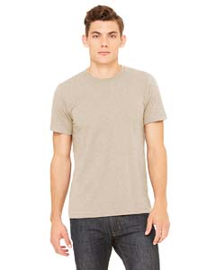 Wholesale Bella + Canvas 3001C Unisex Jersey Short-Sleeve T-Shirt - HEATHER TAN