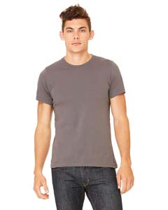 Wholesale Bella + Canvas 3001C Unisex Jersey Short-Sleeve T-Shirt - ASPHALT
