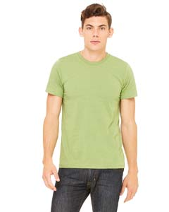 Wholesale Bella + Canvas 3001C Unisex Jersey Short-Sleeve T-Shirt - HEATHER GREEN