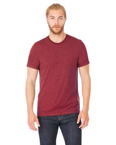 Wholesale Bella + Canvas 3001C Unisex Jersey Short-Sleeve T-Shirt - HEATHER CARDINAL