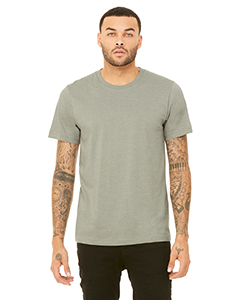 Wholesale Bella + Canvas 3001C Unisex Jersey Short-Sleeve T-Shirt - HEATHER STONE