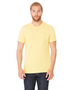 Wholesale Bella + Canvas 3001C Unisex Jersey Short-Sleeve T-Shirt - HTHR YELLOW GOLD