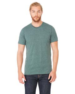 Wholesale Bella + Canvas 3001C Unisex Jersey Short-Sleeve T-Shirt - HEATHER FOREST
