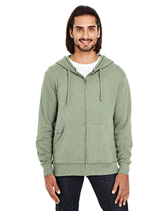 321Z Unisex Triblend French Terry Full-Zip