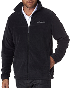 Wholesale Columbia 3220 Men's Steens Mountain™ Full-Zip Fleece - BLACK