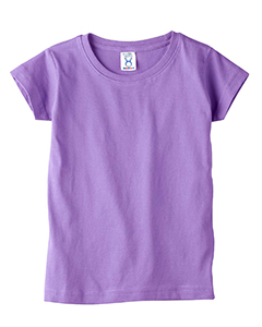 3316 Toddler Girls' Fine Jersey T-Shirt