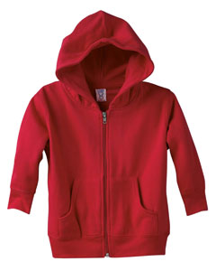 3346 Toddler Zip Fleece Hoodie