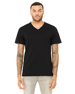 3415C Unisex Triblend Short-Sleeve V-Neck T-Shirt