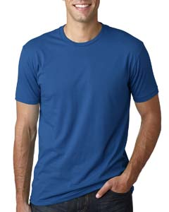Wholesale Next Level 3600 Men's Cotton Crew - COOL BLUE