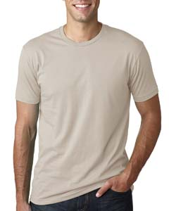 Wholesale Next Level 3600 Men's Cotton Crew - SAND