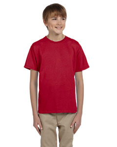 Wholesale Jerzees 363B Youth 5 oz. HiDENSI-T® T-Shirt - TRUE RED
