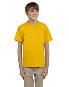 Wholesale Jerzees 363B Youth 5 oz. HiDENSI-T® T-Shirt - GOLD