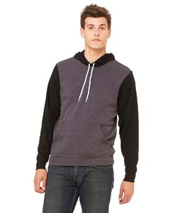 3719 Unisex Poly-Cotton Fleece Pullover Hoodie