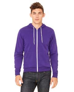 3739 Unisex Poly-Cotton Fleece Full-Zip Hoodie