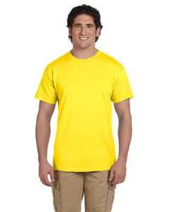 Wholesale Fruit of the Loom 3931 Adult 5 oz. HD Cotton™ T-Shirt - YELLOW