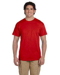 Wholesale Fruit of the Loom 3931 Adult 5 oz. HD Cotton™ T-Shirt - TRUE RED