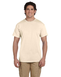 Wholesale Fruit of the Loom 3931 Adult 5 oz. HD Cotton™ T-Shirt - NATURAL