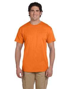 Wholesale Fruit of the Loom 3931 Adult 5 oz. HD Cotton™ T-Shirt - SAFETY ORANGE
