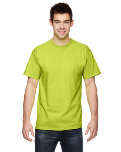 Wholesale Fruit of the Loom 3931 Adult 5 oz. HD Cotton™ T-Shirt - SAFETY GREEN