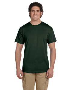 Wholesale Fruit of the Loom 3931 Adult 5 oz. HD Cotton™ T-Shirt - FOREST GREEN