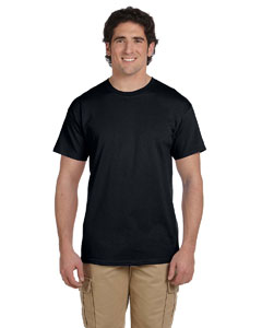 Wholesale Fruit of the Loom 3931 Adult 5 oz. HD Cotton™ T-Shirt - BLACK