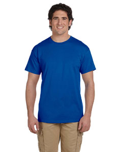 Wholesale Fruit of the Loom 3931 Adult 5 oz. HD Cotton™ T-Shirt - ROYAL