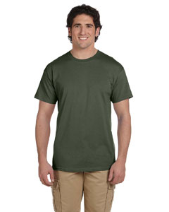 Wholesale Fruit of the Loom 3931 Adult 5 oz. HD Cotton™ T-Shirt - MILITARY GREEN