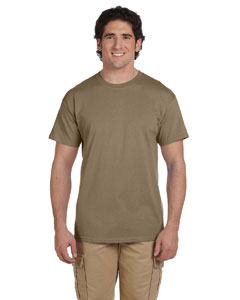 Wholesale Fruit of the Loom 3931 Adult 5 oz. HD Cotton™ T-Shirt - SAFARI