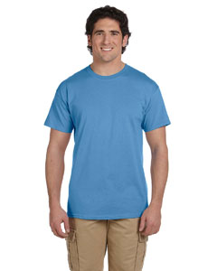 Wholesale Fruit of the Loom 3931 Adult 5 oz. HD Cotton™ T-Shirt - COLUMBIA BLUE