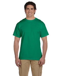 Wholesale Fruit of the Loom 3931 Adult 5 oz. HD Cotton™ T-Shirt - RETRO HTH GREEN