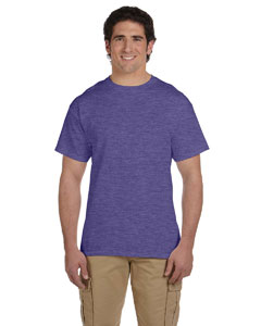Wholesale Fruit of the Loom 3931 Adult 5 oz. HD Cotton™ T-Shirt - RETRO HTH PURP