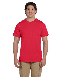 Wholesale Fruit of the Loom 3931 Adult 5 oz. HD Cotton™ T-Shirt - FIERY RED