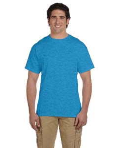 Wholesale Fruit of the Loom 3931 Adult 5 oz. HD Cotton™ T-Shirt - TURQUOISE HTHR