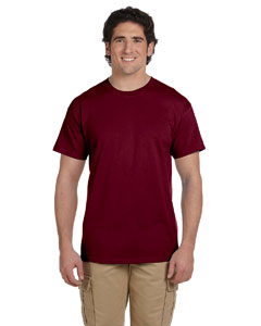 Wholesale Fruit of the Loom 3931 Adult 5 oz. HD Cotton™ T-Shirt - MAROON